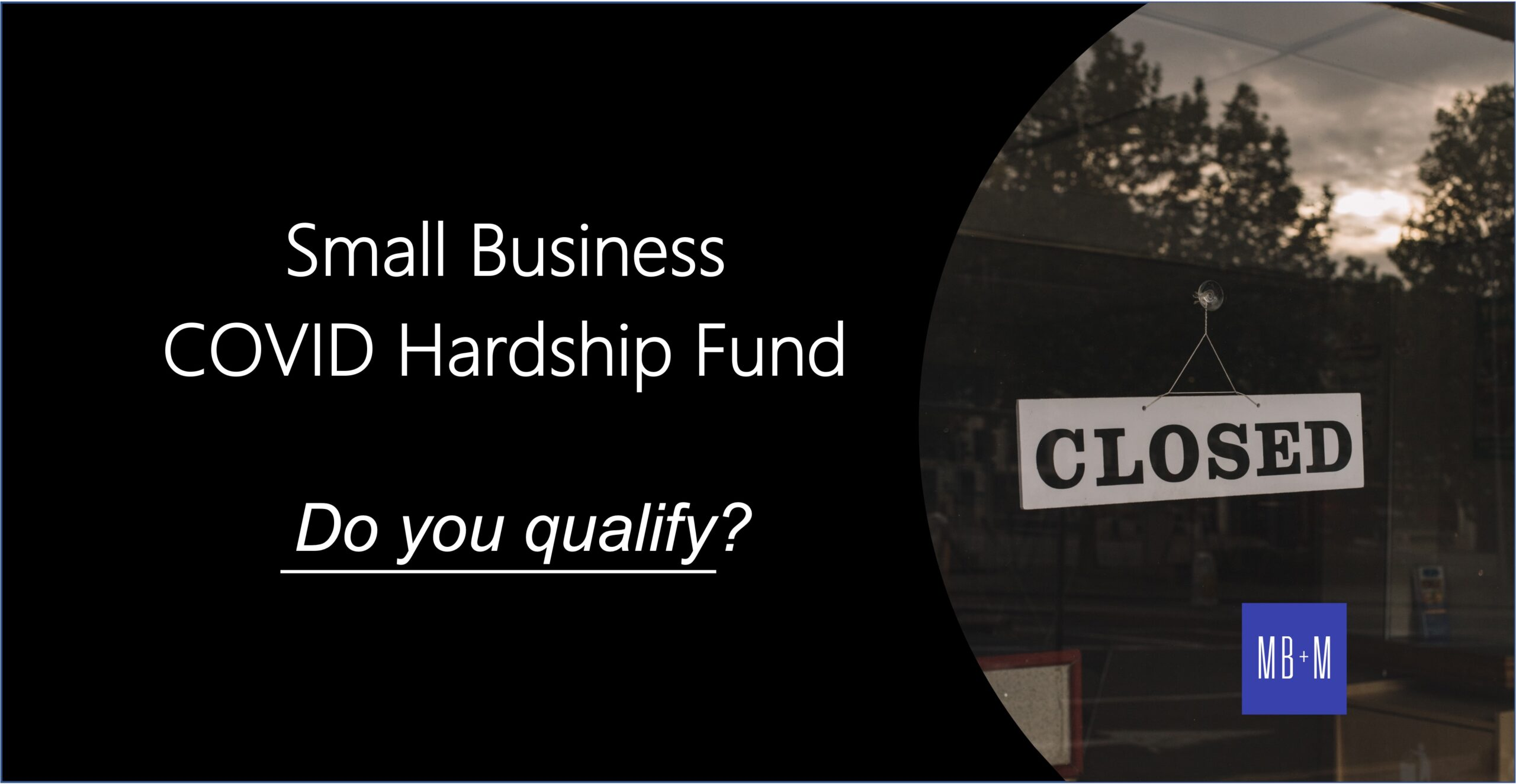 Small Business COVID Hardship Fund